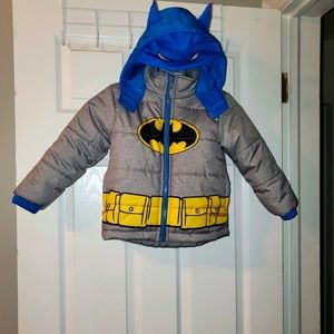 Batman Puffer Coat